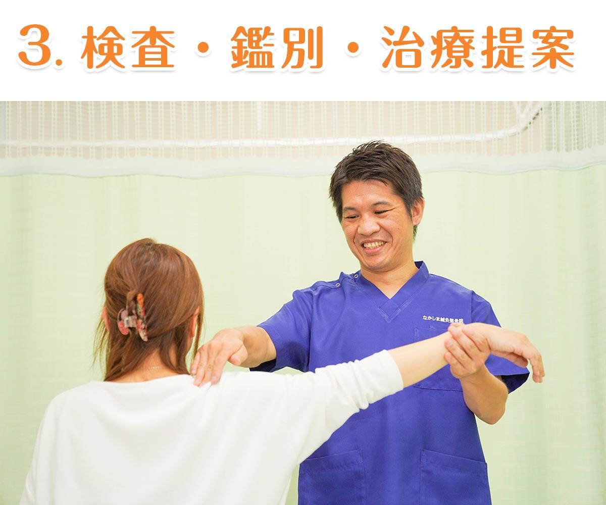 3. 検査・鑑別・治療提案